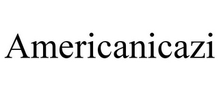 mark for AMERICANICAZI, trademark #85647858