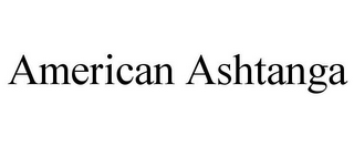 mark for AMERICAN ASHTANGA, trademark #85647925