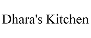 mark for DHARA'S KITCHEN, trademark #85647966