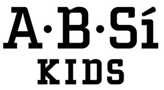 mark for A · B · SÍ KIDS, trademark #85648033