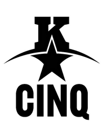 mark for K CINQ, trademark #85648204