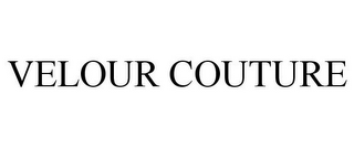 mark for VELOUR COUTURE, trademark #85648996