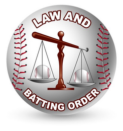mark for LAW AND BATTING ORDER, trademark #85649059