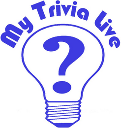 mark for MY TRIVIA LIVE?, trademark #85649334