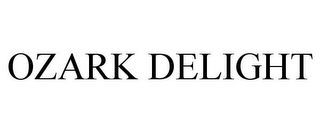 mark for OZARK DELIGHT, trademark #85649466
