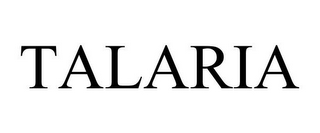 mark for TALARIA, trademark #85649508