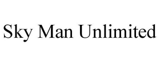 mark for SKY MAN UNLIMITED, trademark #85649580