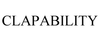mark for CLAPABILITY, trademark #85649689