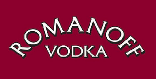mark for ROMANOFF VODKA, trademark #85649788
