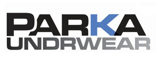 mark for PARKA UNDRWEAR, trademark #85650006