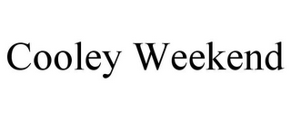 mark for COOLEY WEEKEND, trademark #85650375