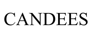mark for CANDEES, trademark #85650481