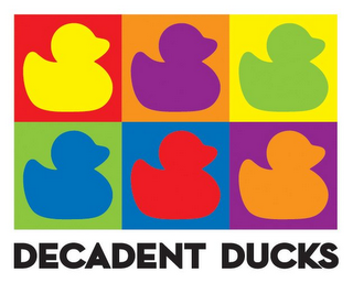 mark for DECADENT DUCKS, trademark #85650498