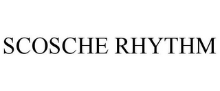 mark for SCOSCHE RHYTHM, trademark #85650960