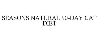 mark for SEASONS NATURAL 90-DAY CAT DIET, trademark #85651031