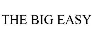 mark for THE BIG EASY, trademark #85651098