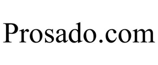 mark for PROSADO.COM, trademark #85651689