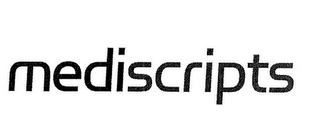 mark for MEDISCRIPTS, trademark #85651721