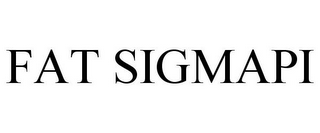 mark for FAT SIGMAPI, trademark #85651820