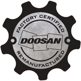 mark for DOOSAN FACTORY CERTIFIED REMANUFACTURED, trademark #85652182