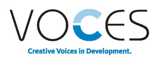 mark for VOCES CREATIVE VOICES IN DEVELOPMENT., trademark #85652200