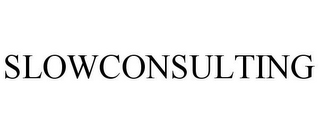 mark for SLOWCONSULTING, trademark #85652424