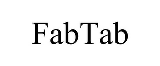 mark for FABTAB, trademark #85652499