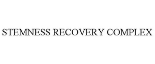 mark for STEMNESS RECOVERY COMPLEX, trademark #85652778