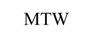 mark for MTW, trademark #85652938