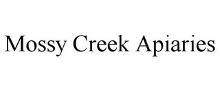 mark for MOSSY CREEK APIARIES, trademark #85652959