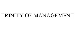 mark for TRINITY OF MANAGEMENT, trademark #85653146