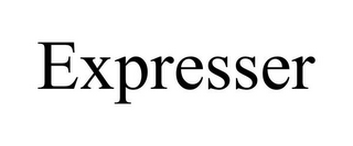 mark for EXPRESSER, trademark #85653148