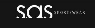 mark for S.A.S. SPORTSWEAR, trademark #85653305