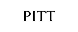 mark for PITT, trademark #85653354