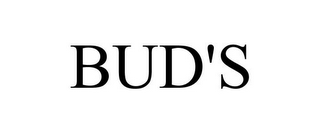 mark for BUD'S, trademark #85653437