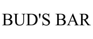 mark for BUD'S BAR, trademark #85653512
