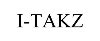 mark for I-TAKZ, trademark #85653640