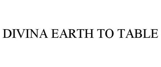 mark for DIVINA EARTH TO TABLE, trademark #85653660