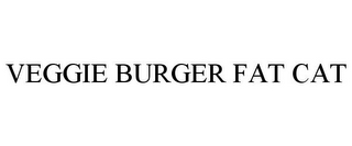 mark for VEGGIE BURGER FAT CAT, trademark #85653703