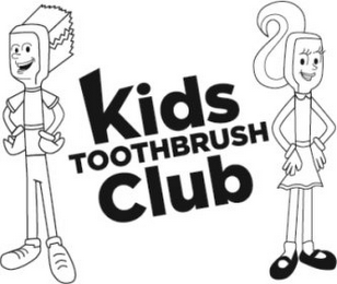 mark for KIDS TOOTHBRUSH CLUB, trademark #85653944