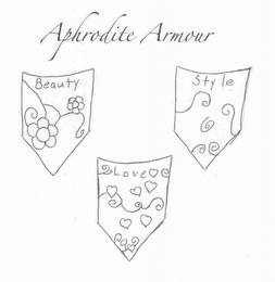 mark for APHRODITE ARMOUR BEAUTY STYLE LOVE, trademark #85653997