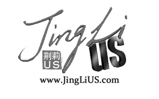 mark for JING LI US US WWW. JINGLIUS.COM, trademark #85654006