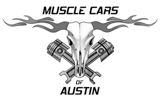 mark for MUSCLE CARS OF AUSTIN, trademark #85654124
