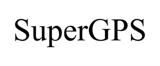 mark for SUPERGPS, trademark #85654146