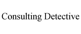 mark for CONSULTING DETECTIVE, trademark #85654225
