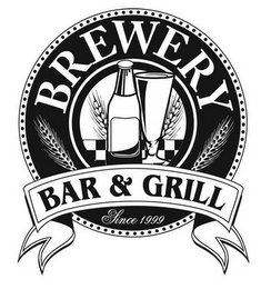 mark for BREWERY BAR & GRILL SINCE 1999, trademark #85654486