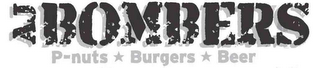 mark for AJ BOMBERS P-NUTS BURGERS BEER, trademark #85654696