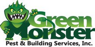 mark for GREEN MONSTER PEST & BUILDING SERVICES,INC., trademark #85654994