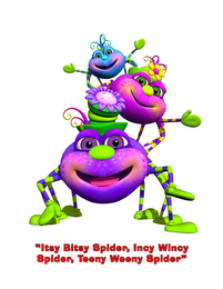 "mark for ""ITSY BITSY SPIDER, INCY WINCY SPIDER, TEENY WEENY SPIDER"", trademark #85655124"