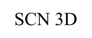 mark for SCN 3D, trademark #85655349